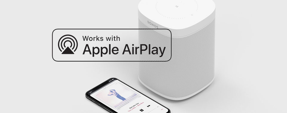 Sonos One met AirPlay