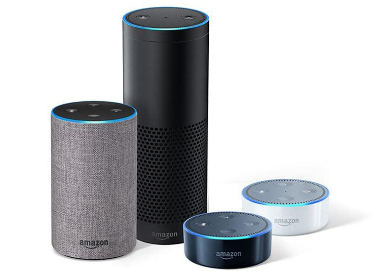Amazon Echo modellen