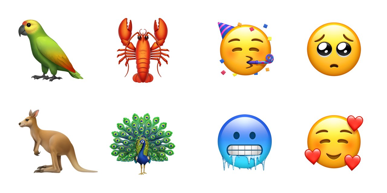 Apple Emoji Update 2018
