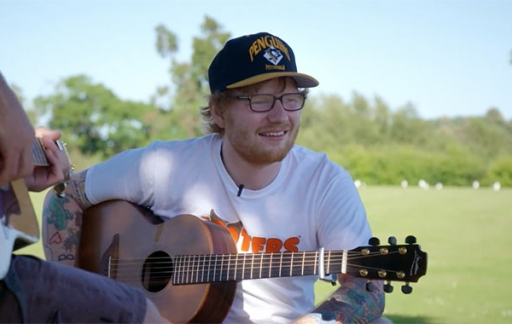 Ed Sheeran docu op Apple Music