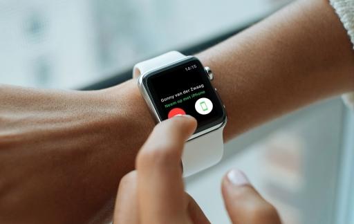 FaceTime beantwoorden op de Apple Watch.