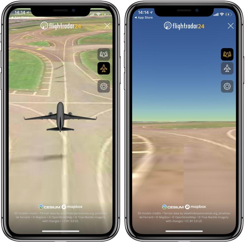 Flightradar24 pilootbeelden