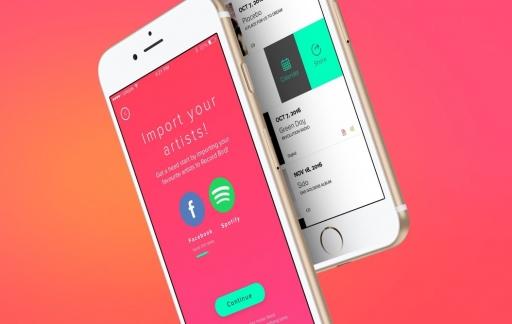 Record Bird-app