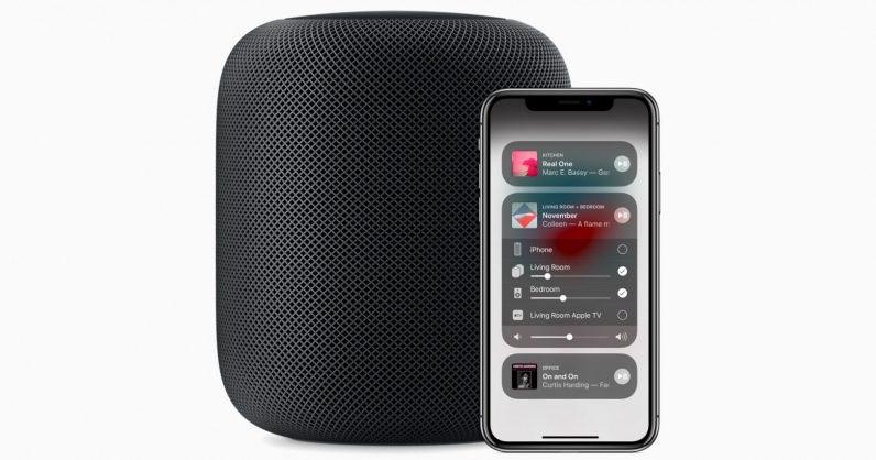 HomePod met Apple Music