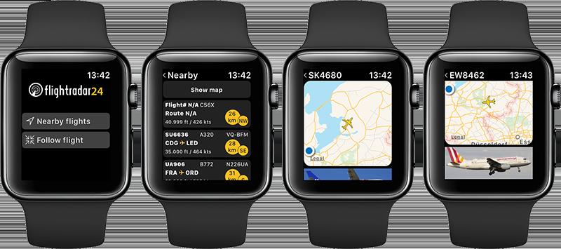 Flightradar24 Apple Watch