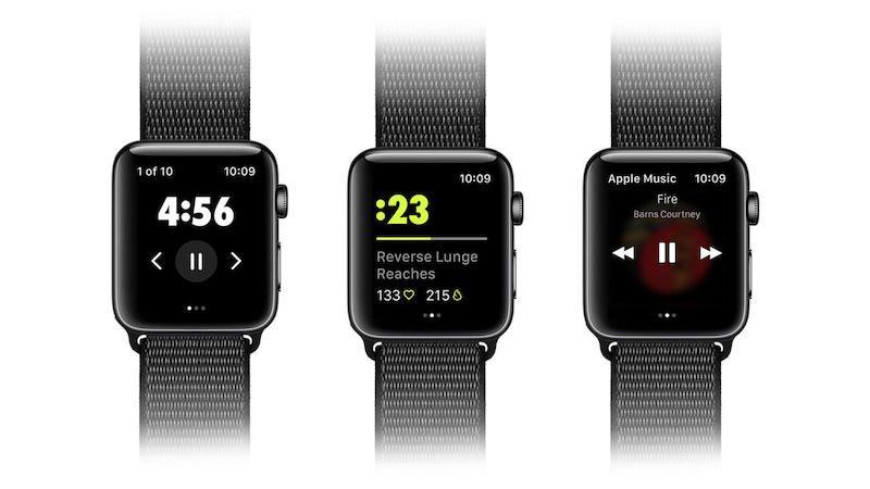 Nike Training Club op Apple Watch