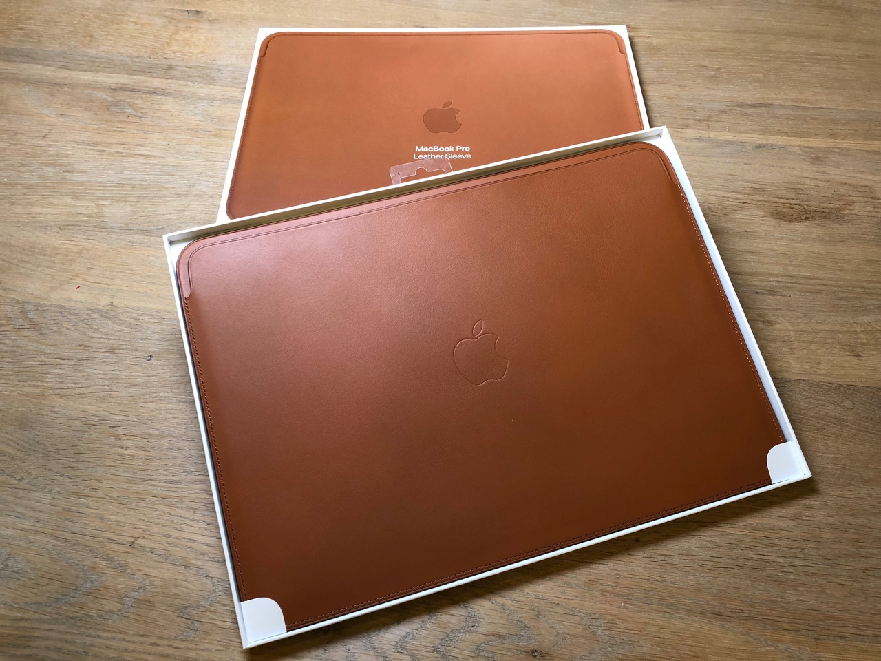Leren Sleeve voor MacBook Pro