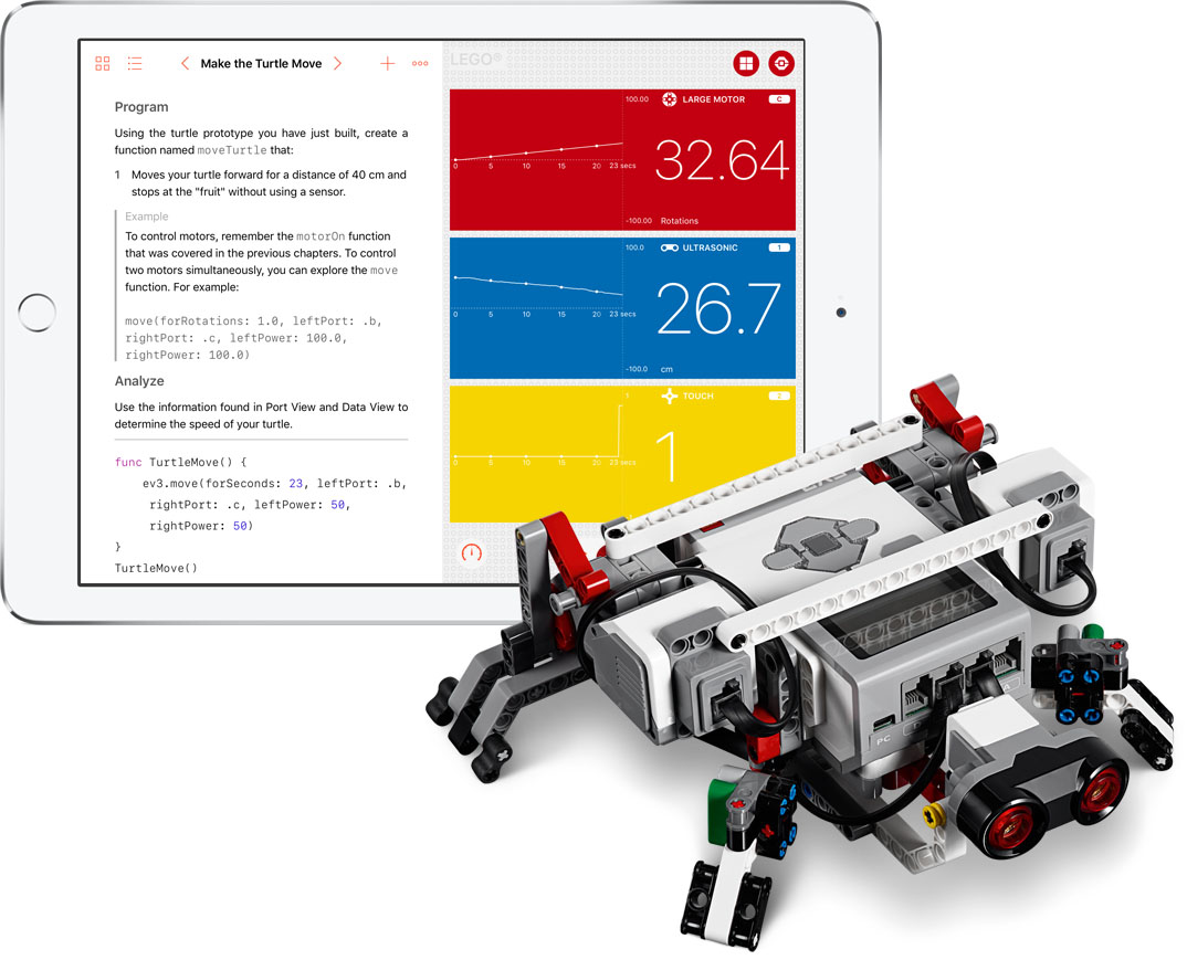 Swift: robot programmeren