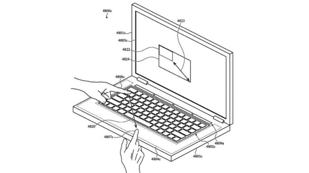 Apple toetsenbord patent