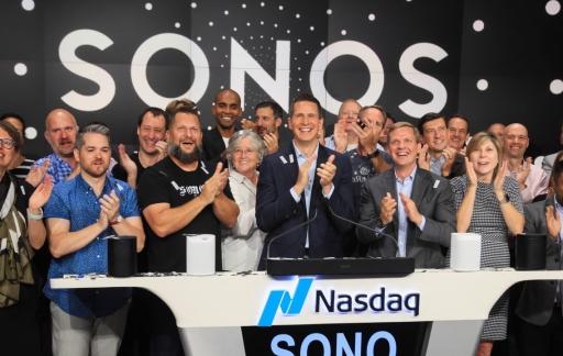 Sonos-beursgang