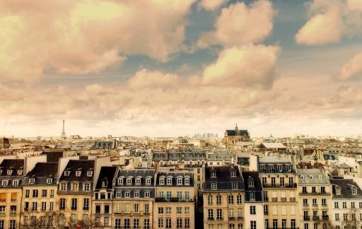 Buurt in Parijs