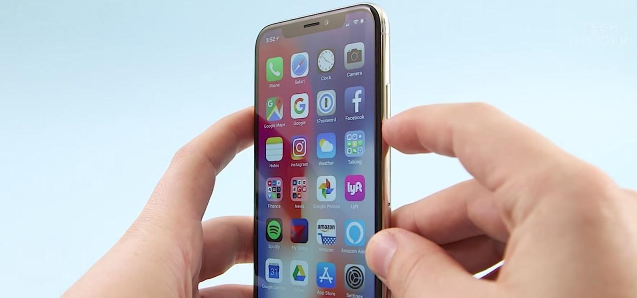 iPhone screenshot maken