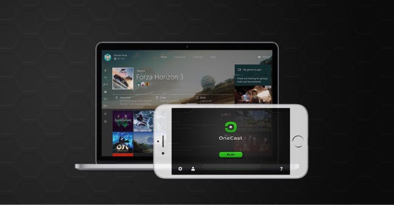 OneCast streamen van Xbox One naar Mac, iPhone en iPad.