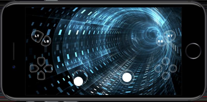 OneCast voor iPhone streamen.