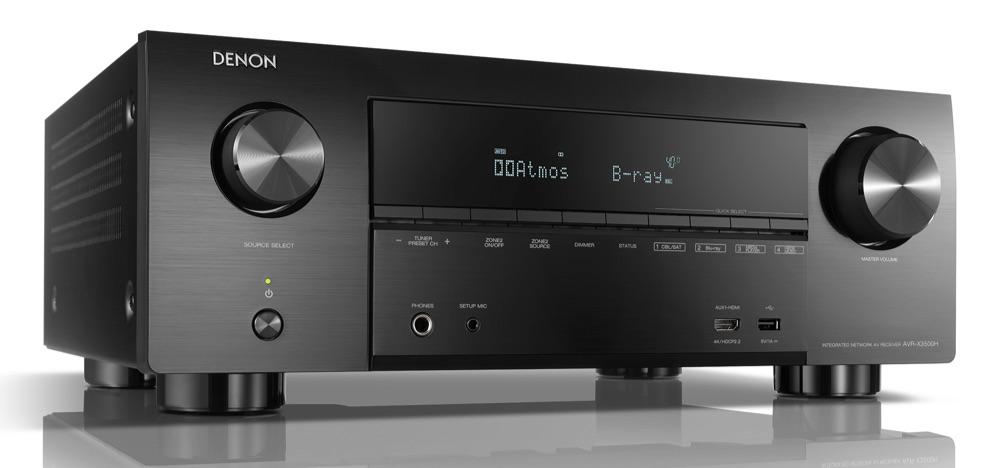 Denon AVR-3500H receiver.