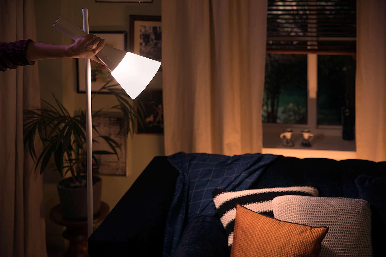 Philips Hue Explore vloerlamp.