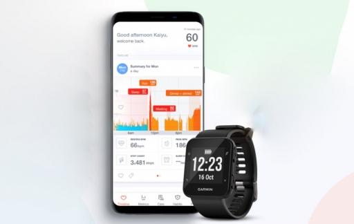 Cardiogram op Garmin-horloges