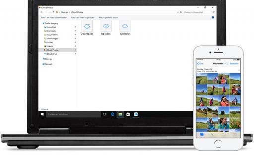 iCloud voor Windows gebruiken.