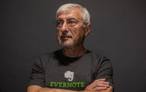 Stepan Pachikov van Evernote