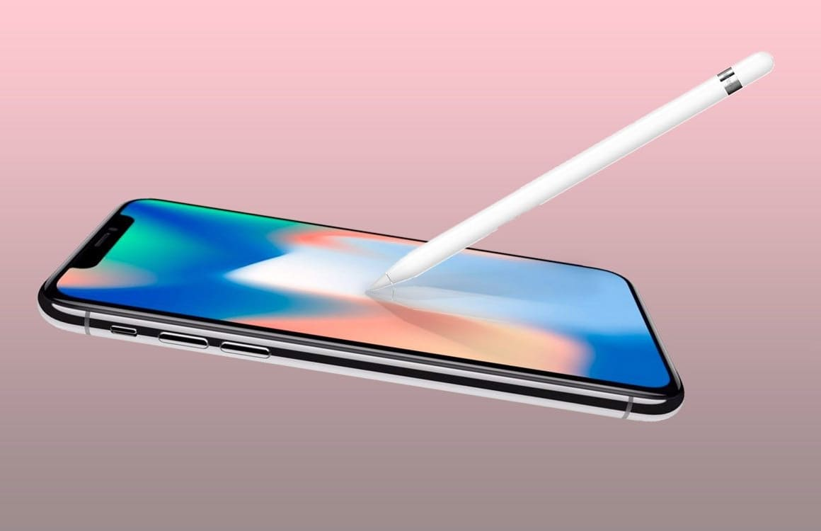 iPhone en Apple Pencil