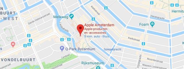 Apple Store Amsterdam locatie