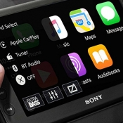 Sony CarPlay-systeem