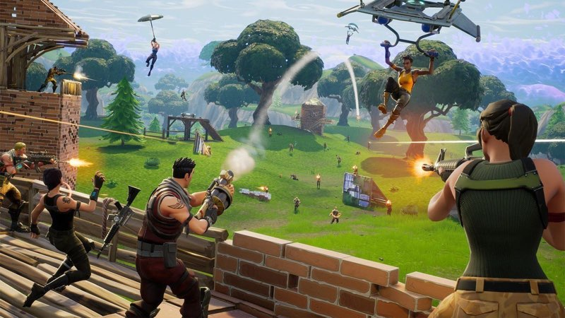 Fortnite naar Apple TV