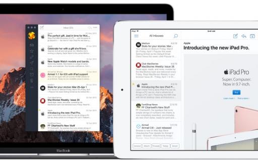 Airmail op Mac
