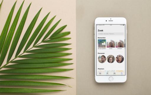 Zoeken in de Foto's-app