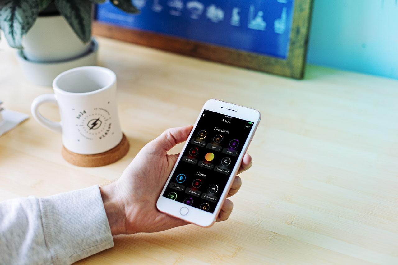 LIFX app voor iPhone