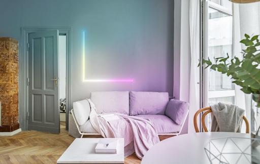 LIFX Beam in de woonkamer