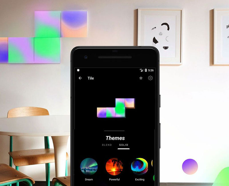 LIFX Tile met app