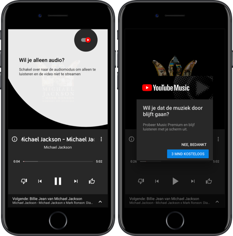 YouTube Music-app.