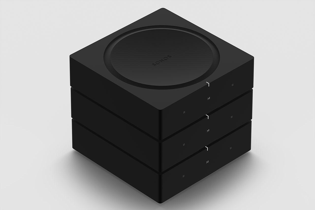 Sonos Amp gestapeld