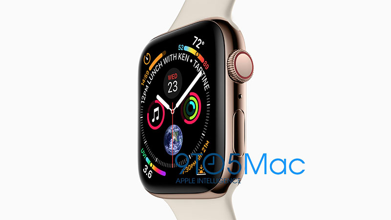 Apple Watch Series 4 gelekt