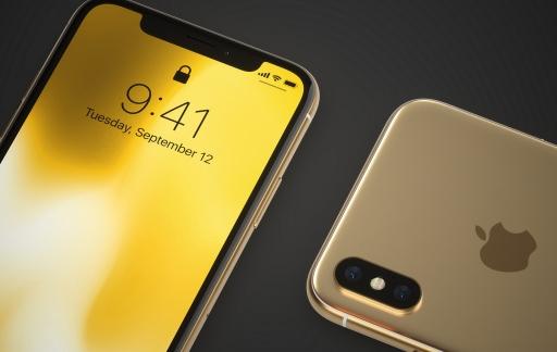 iPhone XS goud