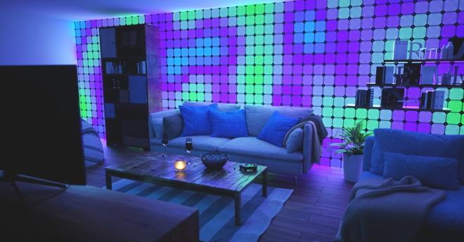 Nanoleaf Canvas, vierkante lichtpanelen