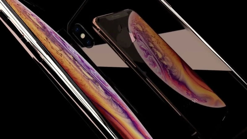 iPhone XS in conceptvideo.