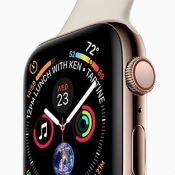 Apple Watch Series 4 close-up.