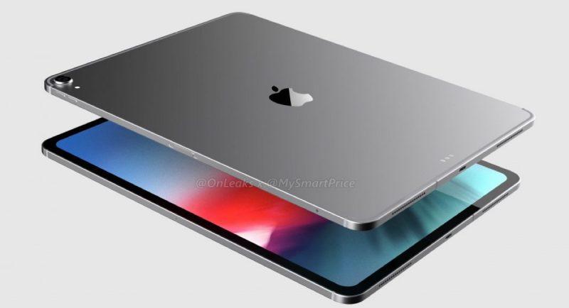 iPad Pro 12,9 2018 renders