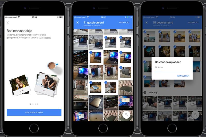 Google Fotoboeken-app