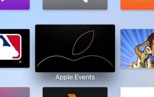 iPhone XS event op Apple TV