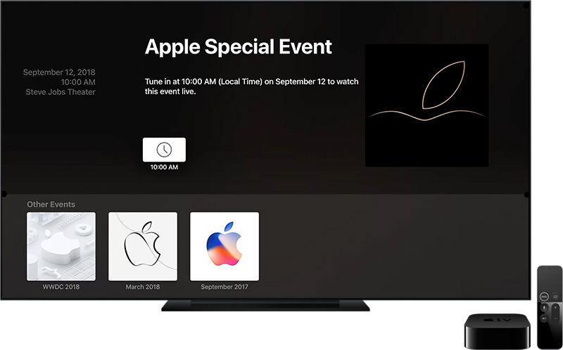 Gather Round-event Apple event 2018 Apple TV-app