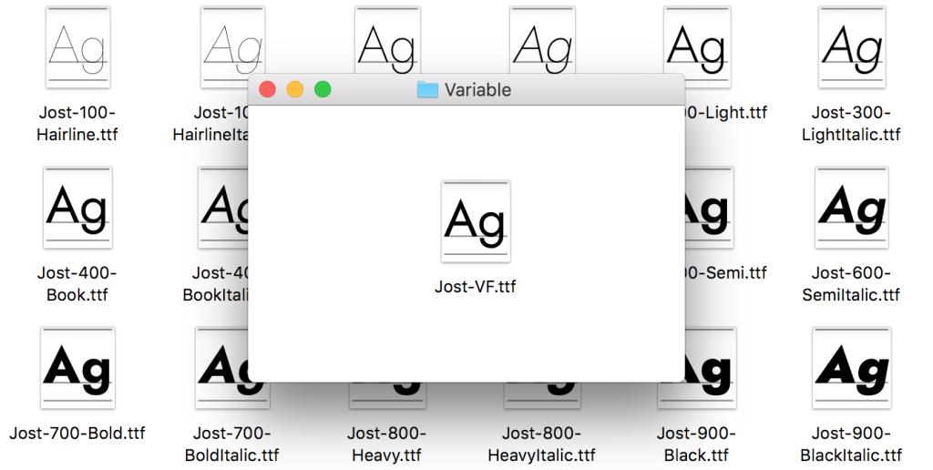 Firefox voor macOS: variabel font en donker thema