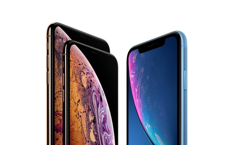 iPhone XS, iPhone XS Max en iPhone XR.