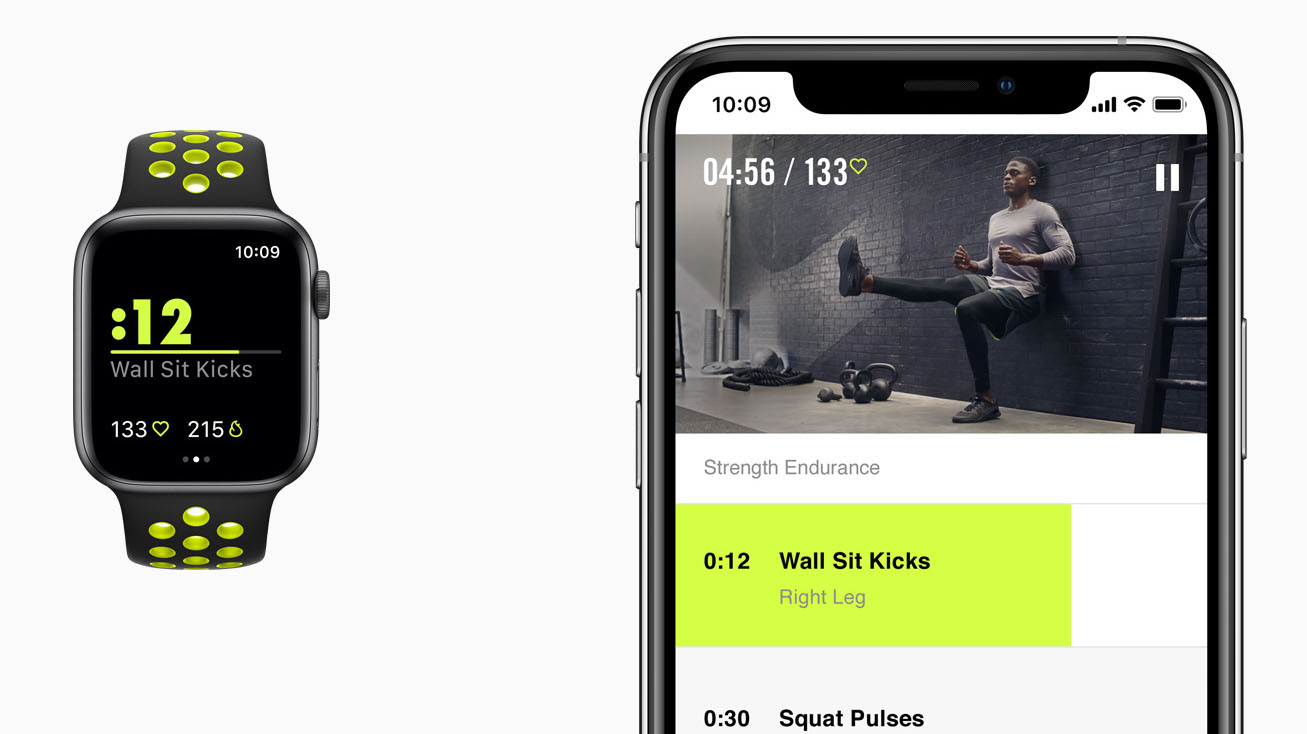 Nike Training Club-app voor Apple Watch Nike