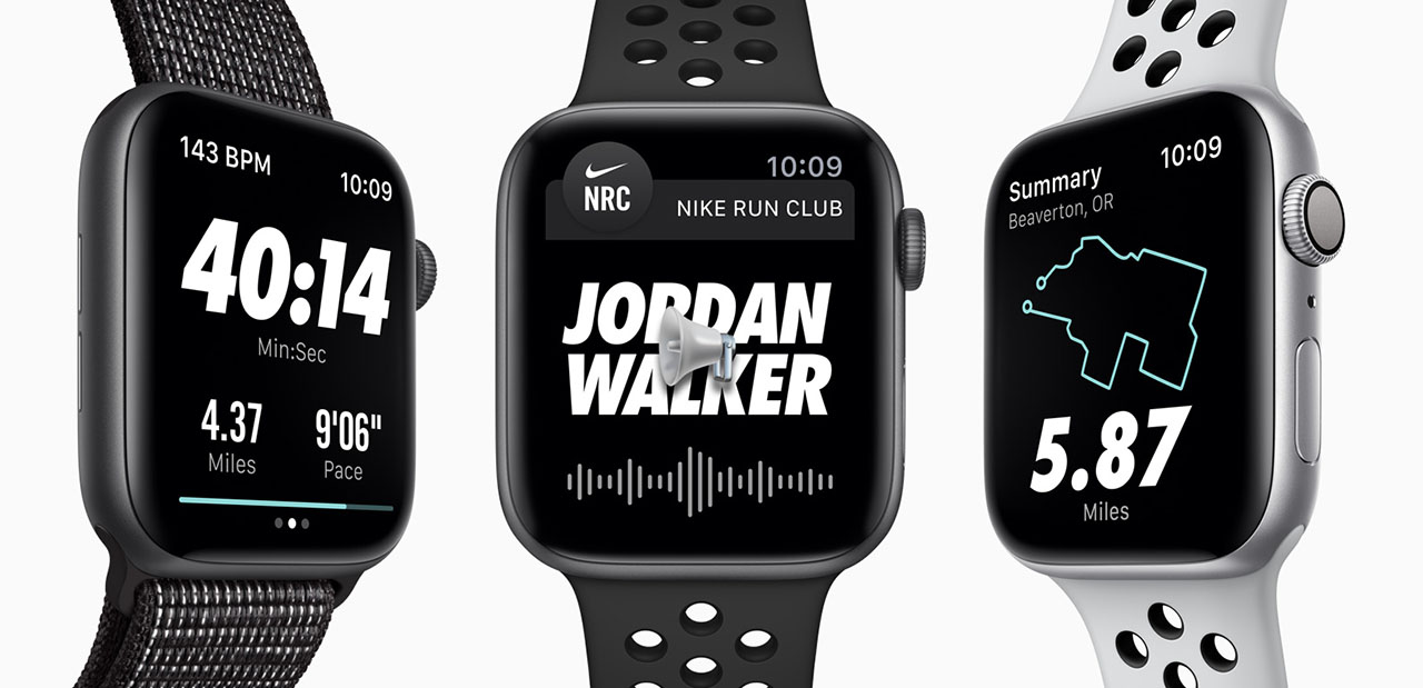 Apple Watch Nike Run Club-app