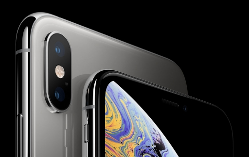 iPhone XS zilver