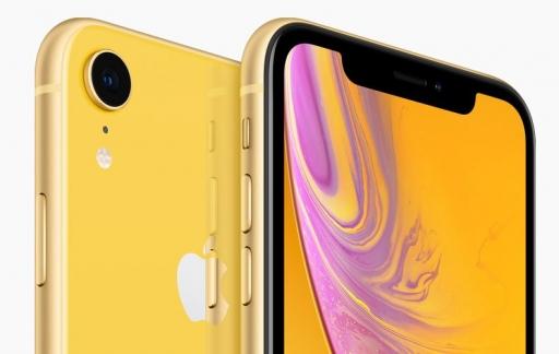 iPhone XR kleuren geel