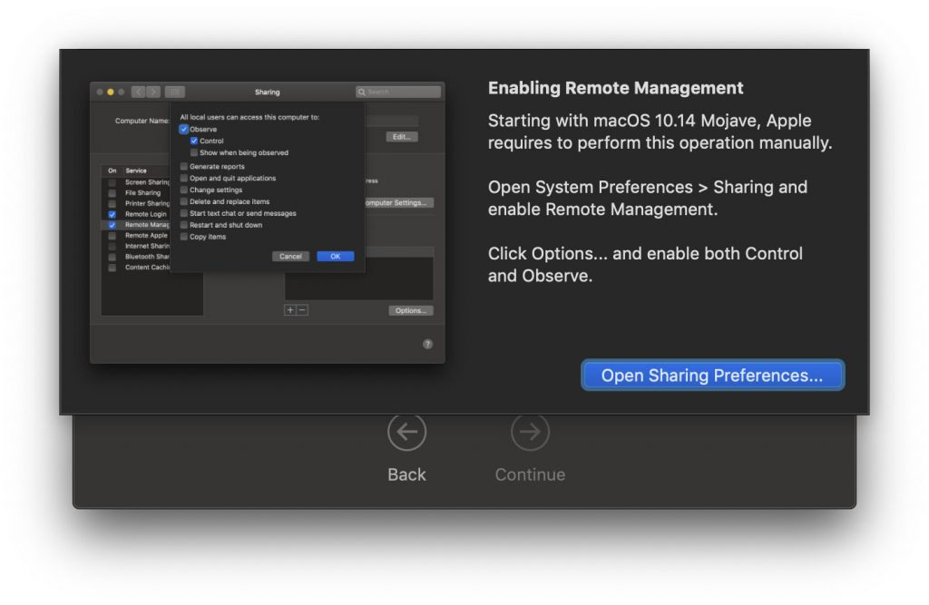 Remote Management met Kickstart-commando